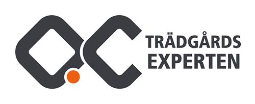 QC trädgårds experten logo